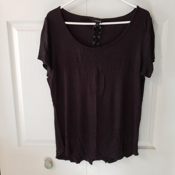torrid Tops - Black short sleeve shirt